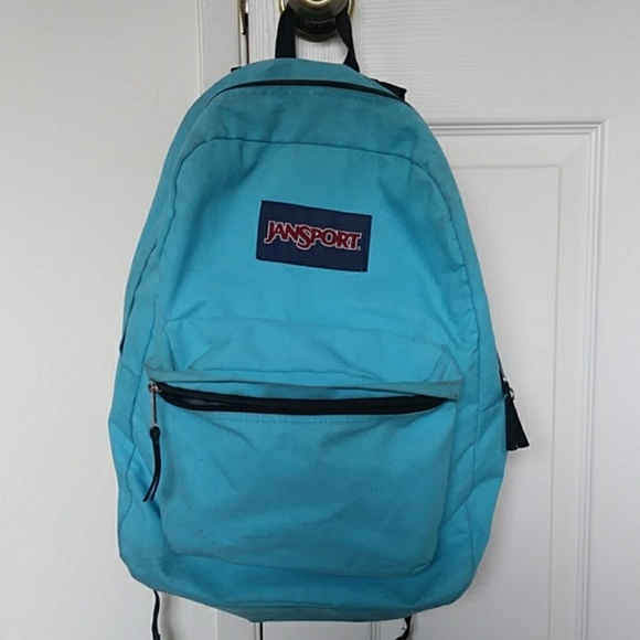Jansport Handbags - Men's/women's jansport sky/light blue backpack